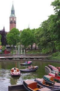Tivoli Gardens, Copenhagen ,Denmark: