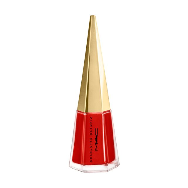 M·A·C Studio Nail Lacquer / Charlotte Olympia in Old Fashioned: A long-lasting nail colour in a deep and classic burgundy.