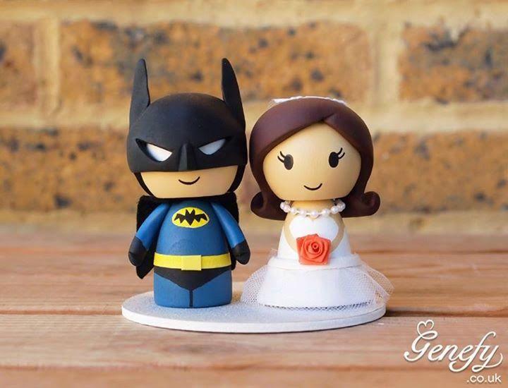 Estupendos muñecos geek para tu pastel de bodas ~ Astrum Blog | Geek, Tecnología, Internet, Videojuegos, Entretenimiento.