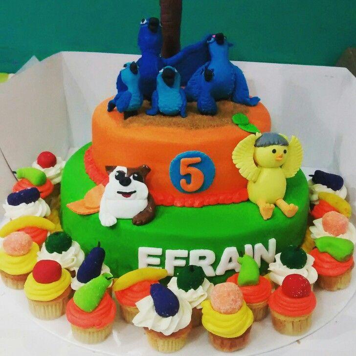 Rio #tortas temáticas