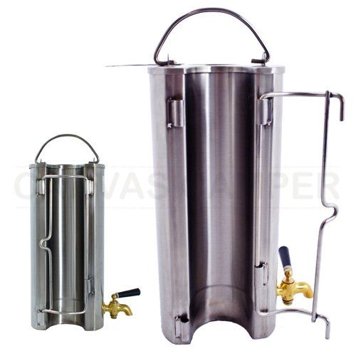 Water Heater for Portable Wood Burning Stove