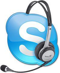 Skype + наушники