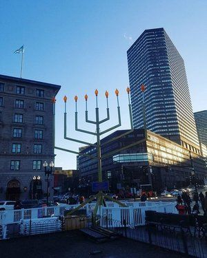 "Happy Hanukkah, #Boston  Chanukah (Hanukkah) is the Jewish eight-day, wintertime ""festival of lights,"" celebrated with a nightly menorah lighting, special prayers and foods.  The Hebrew word Chanukah means ""dedication,"" and is thus named because it celebrates the rededication of the Holy Temple. Hanukkah 2016 is from December 24 to January 1."