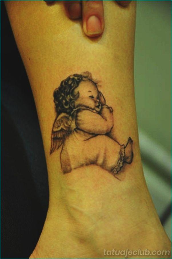 45 Disenos De Tatuajes De Angel Para Ninas Y Ninos Angel Tatuajes Disenos De Tatuaje De Angel Tatuajes Bebe Tatuaje De Bebe Angel