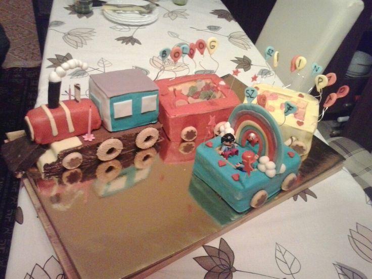 Vonat torta