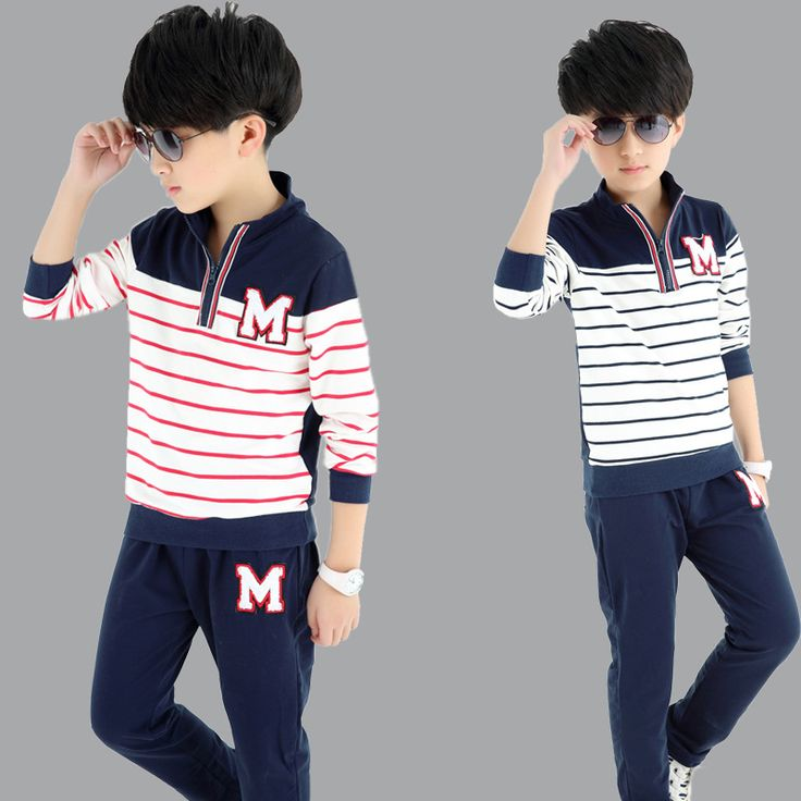 "$24.90 (Buy here: https://alitems.com/g/1e8d114494ebda23ff8b16525dc3e8/?i=5&ulp=https%3A%2F%2Fwww.aliexpress.com%2Fitem%2F2016-Spring-New-Sport-Suit-Boys-Baseball-Suit-Set-O-Dell-Cotton-T-Shirt-Kids-Long%2F32589383282.html ) 2016 Spring New Sport Suit Boys,Baseball Suit Set, O'Dell Cotton T-Shirt Kids,Long Sleeve""M"" Striped Boys Top Tees, Sport Pants for just $24.90"