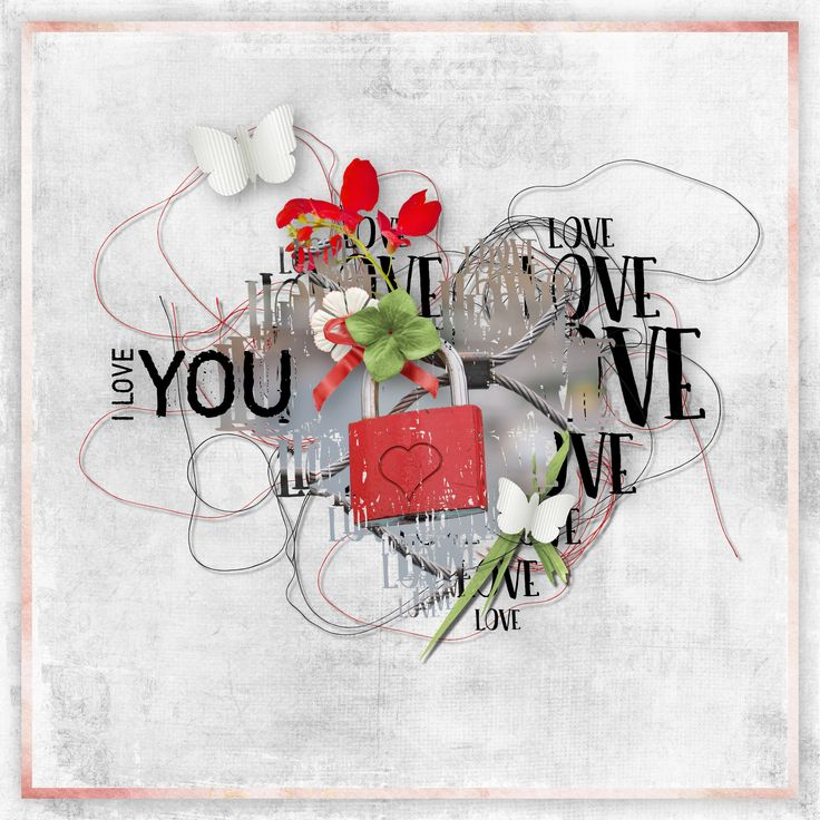 "free kit ""I Love You"" by Palvinka Designs, http://palvinka.blogspot.cz/, photo Pixabay"