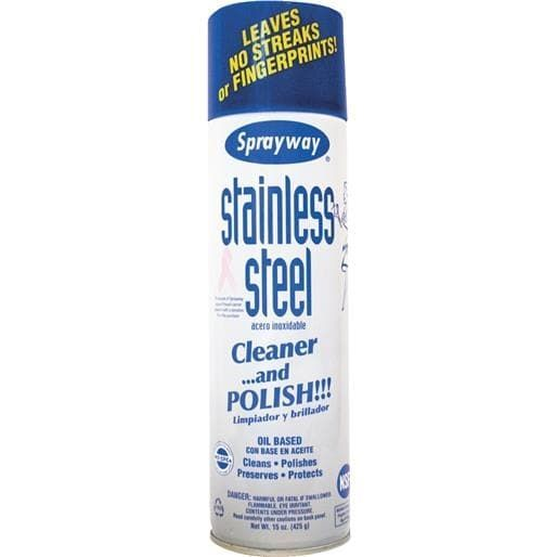 PLZ Aeroscience Corp Stainless Steel (Silver) Cleaner SW841R Unit: Each