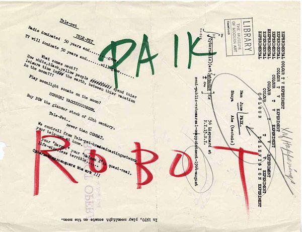 Nam June Paik, Robot Opera, 1964