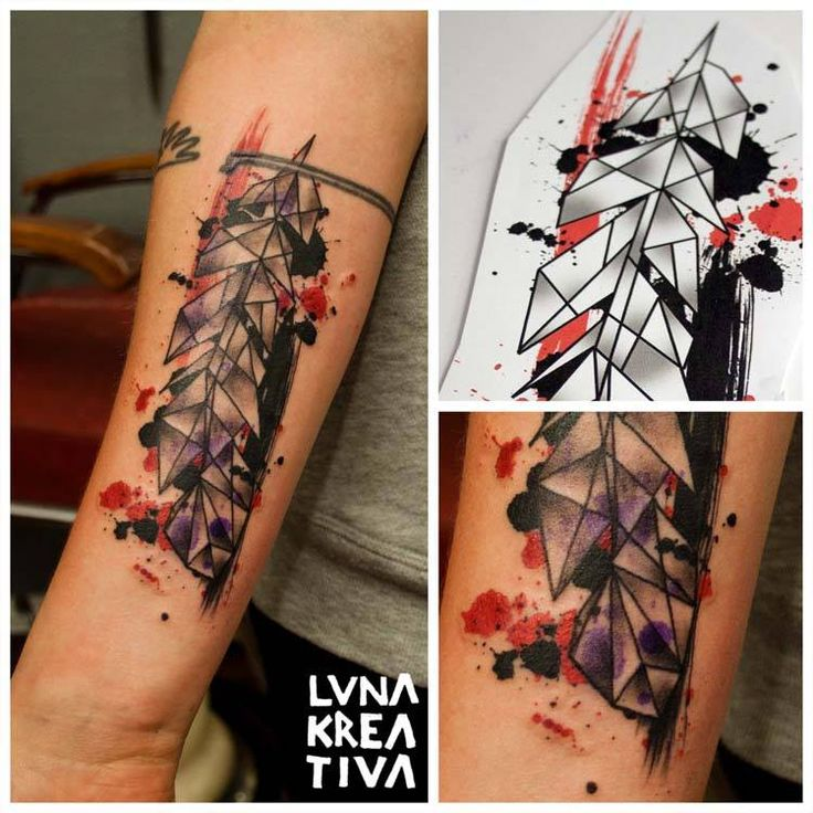 Custom design and tattooing by LUNA KREATIVA, Helsinki, Finland