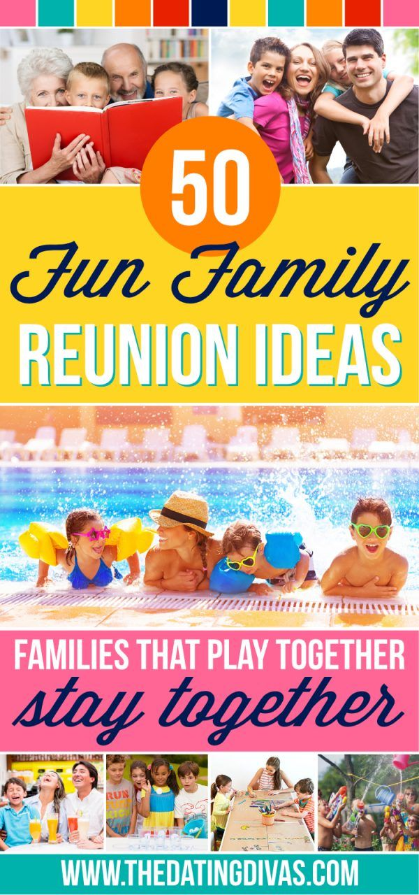 Fun Family Reunion Ideas