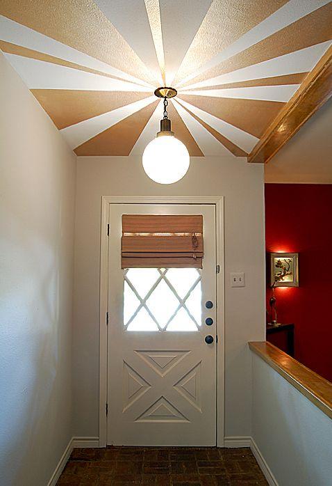 17 best ideas about painted ceilings on pinterest paint. Black Bedroom Furniture Sets. Home Design Ideas