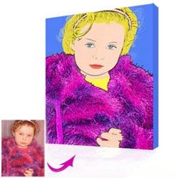 """Roy Lichtenstein  Comic Style  """"Sophie"""""""