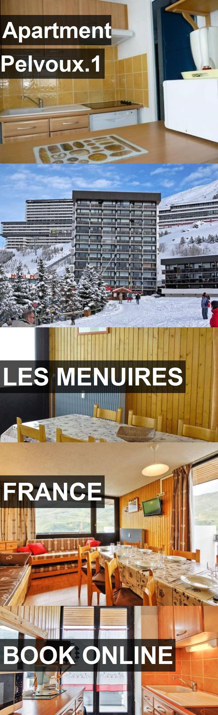 Apartment Pelvoux.1 in Les Menuires, France. For more information, photos, reviews and best prices please follow the link. #France #LesMenuires #travel #vacation #apartment
