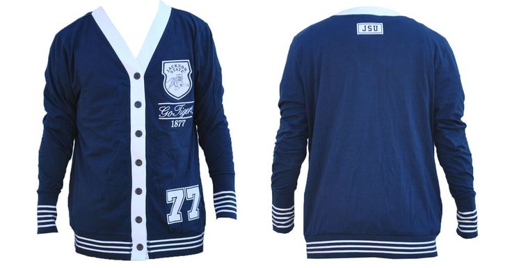 Jackson State University Lightweight Cardigan - Brothers and Sisters' Greek Store