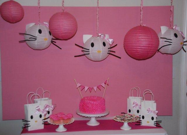 Hello Kitty Birthday Party Ideas Party Decorations Hello Kitty