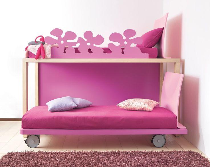Bunk bed / contemporary / child's / girl's Dear snc dei F.lli Pozzi