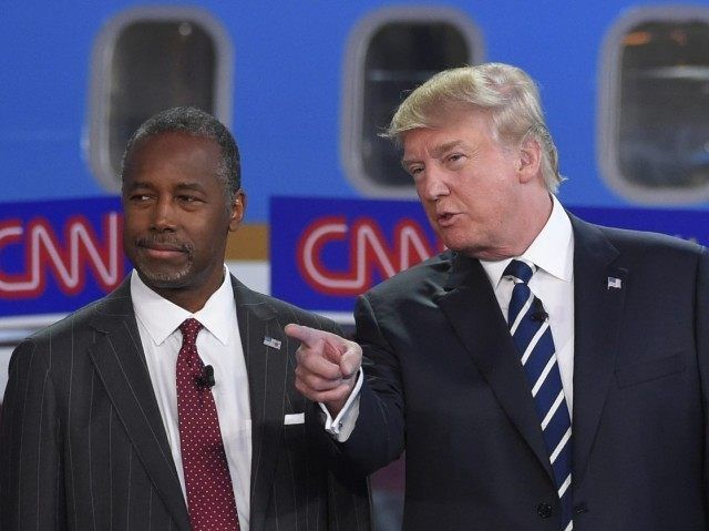 While Trump and Carson have maintained the number one and two spots for for more than three months now, the race isn't static.
