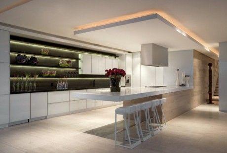 Indirecte verlichting keuken