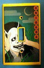 Capa De Interruptor De Luz Onibaba, Alavanca única-Terror Japonês, Amarelo, Pop Art