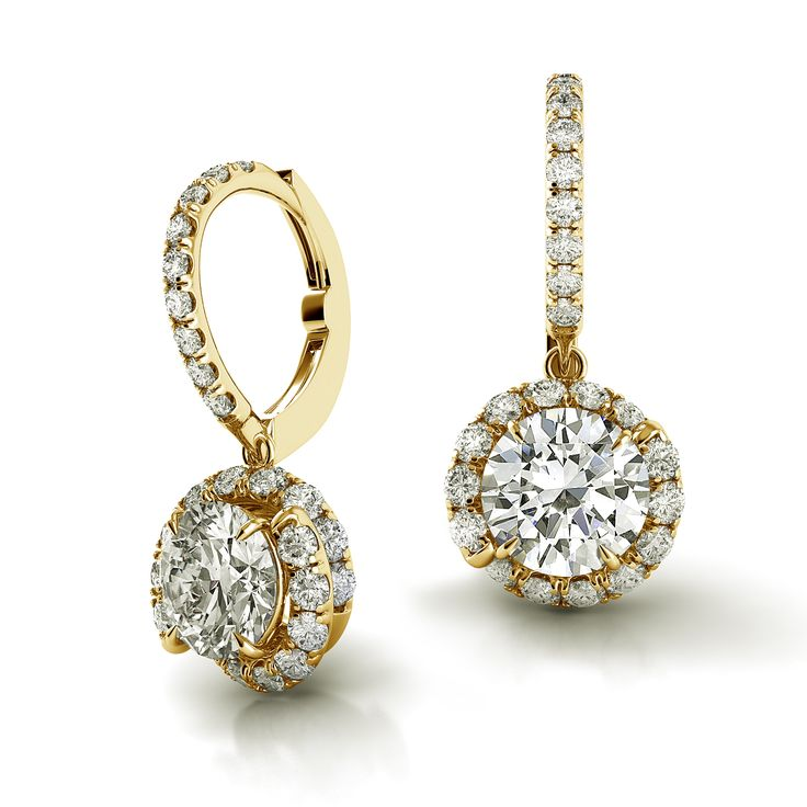 Danhov Abbraccio Fine Jewelry Diamond Drop Earrings In 18k