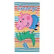 Toalla de George de Peppa Pig...: http://www.pequenosgigantes.es/pequenosgigantes/4412342/toalla-playa-piscina-de-george.html