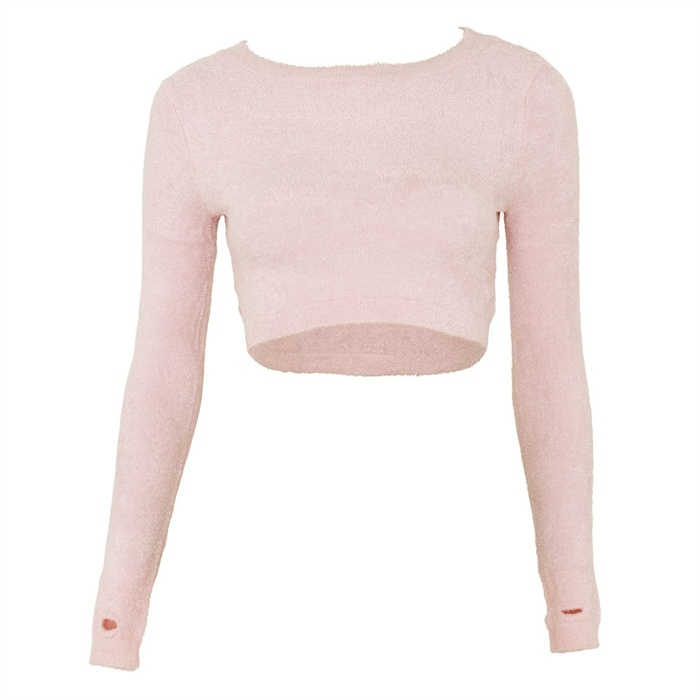SP3002 Chenille Cropped Top by Capezio, great prices, same day despatch - Dancing in the Street
