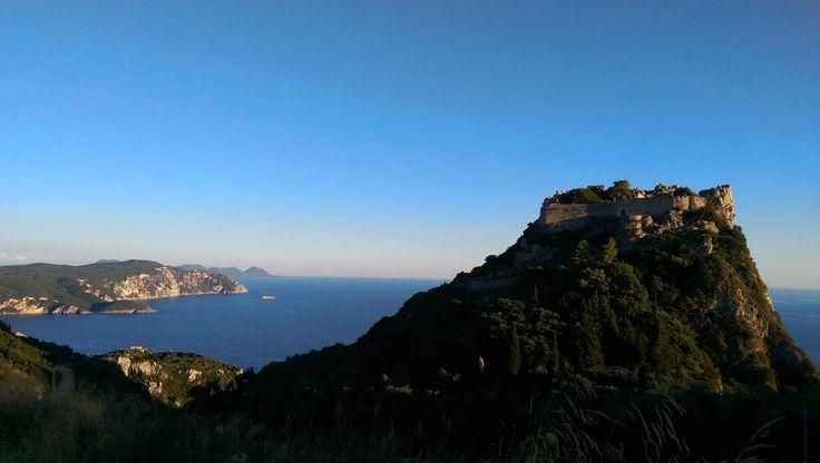 Angelokastro, Corfu