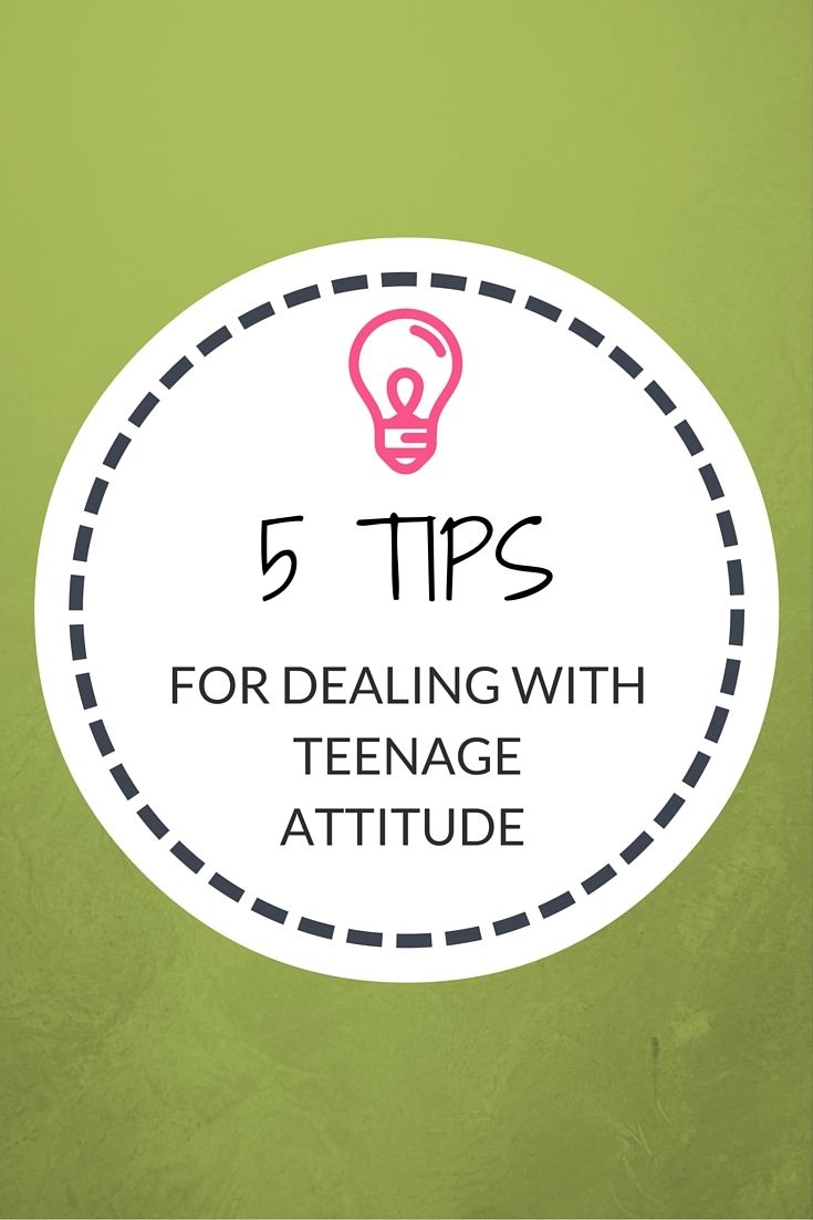 5 Tips in Dealing with Teenage Attitude http://www.confessionsofasinglemum.co.uk/5-tips-dealing-teenage-attitude/