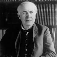 """""""Our greatest weakness lies in giving up. The most certain way to succeed is always to try just one more time."""" – Thomas Edison"""