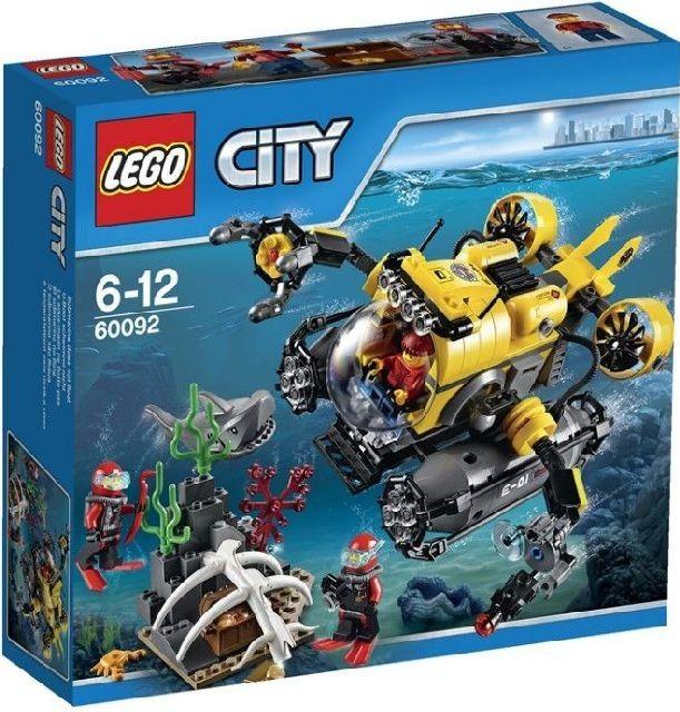 Lego City 60092 Hlubinná ponorka - 0