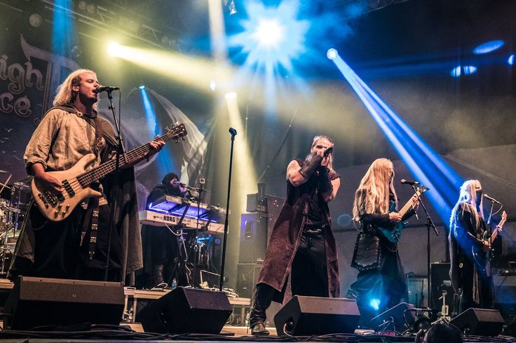 Twilight Force ⚫ Photo by Martin Fechner ⚫ Sabaton Open Air 2016 ⚫ #TwilightForce #music #metal #concert #gig #musician #Chrileon #Lynd #DeAzsh #Born #Blackwald #Aerendir #singer #vocalist #frontman #guitarist #guitar #microphone #ninja #mask #armour #armor #microphone #bracers #tattoo #beard #hood #hymn #elf #tabard #playing #coat #earrings #leather #blond #longhair #festival #photo #fantasy #magic #cosplay #larp #man #onstage #live #celebrity #band #artist #performing #Sweden #Swedish #SOA