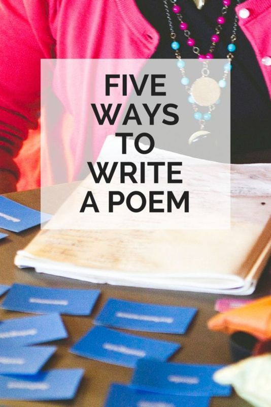 It's National Poetry Month and I want to help you find your way into a poem. Here are five poetry prompts to get you started (even if you don't like poetry at all).