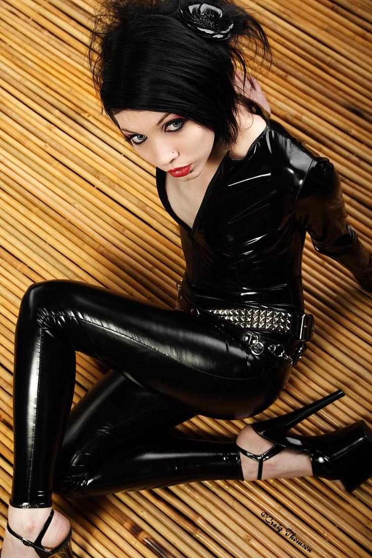 Sexy Pvc Catsuit Fashion Black Amp Grey Catsuit Pvc