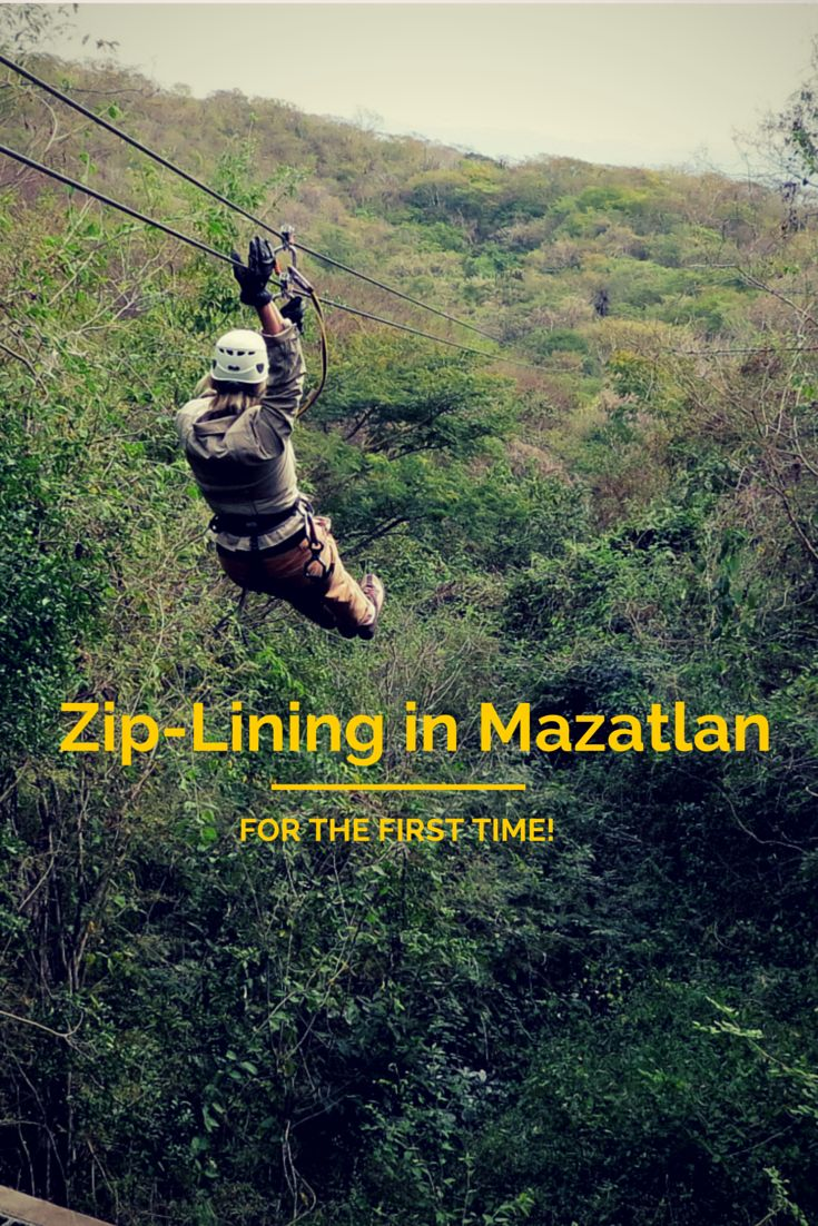 A first zip-lining experience! Huana Coa Canopy Adventure Park is about 45 minutes from the resorts of Mazatlan, Mexico.