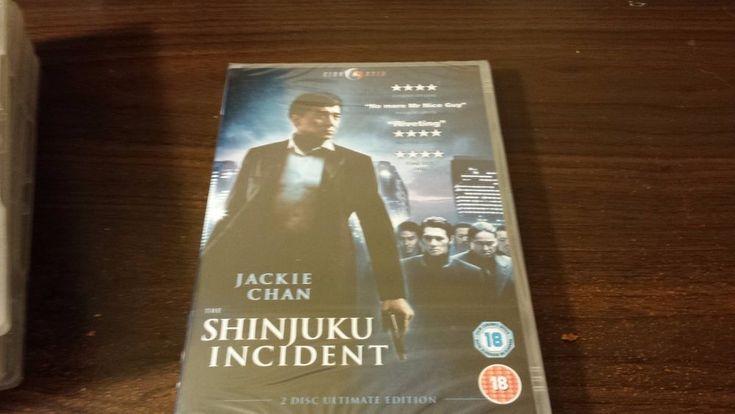 Cine Asia The Shinjuku Incident New PAL/Region 2 Format