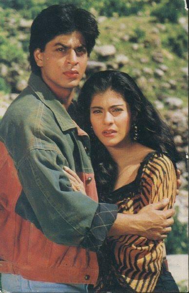 Shahrukh Khan and Kajol - Karan Arjun (1995)