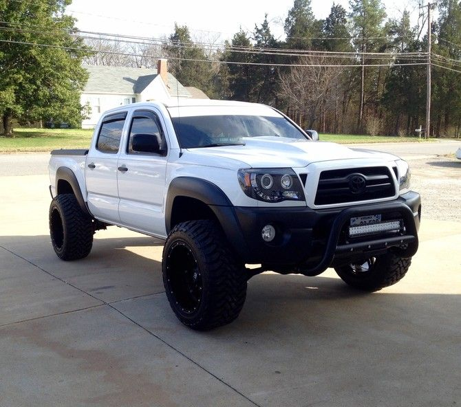 2007 Toyota Tacoma Double Cab 4wd Toyo Open Country M/T 33/12.50R20 (1540)