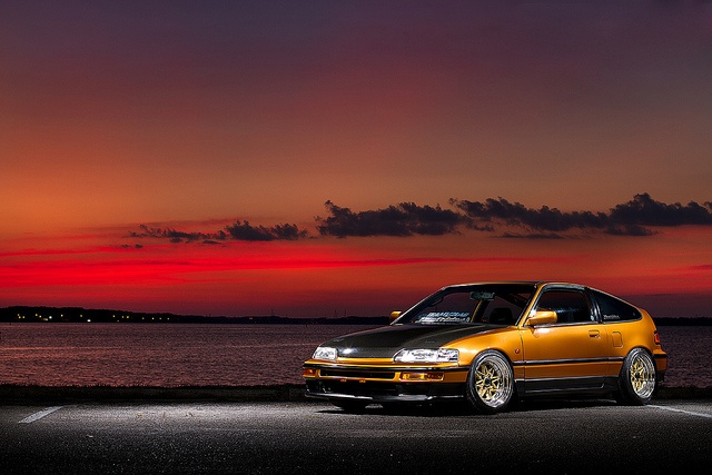 Phat Rides x team V2LAB Honda CRX by Garrett Wade (v2lab), via Flickr