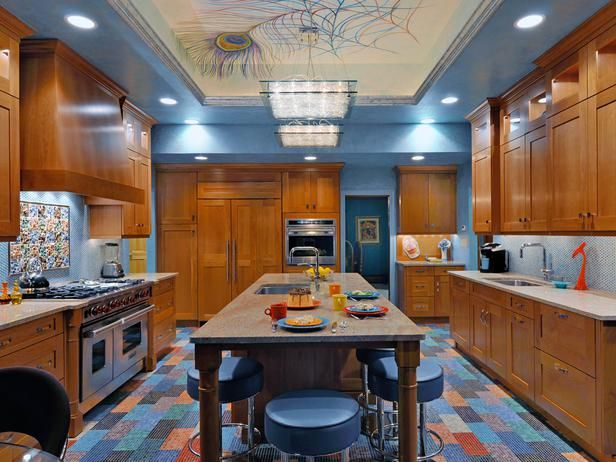 10 Kitchens That Pop With Color : Kitchen Remodeling : HGTV Remodels
