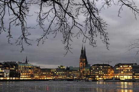 Binnenalster, Hamburg Germany