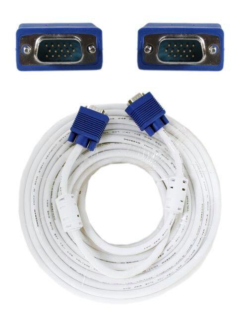 Kabel VGA 30M High Quality - High Quality VGA Cable - Jack Biru - Panjang 30 meter Harga Rp325.000 Info detail di : www.tokomipo.com