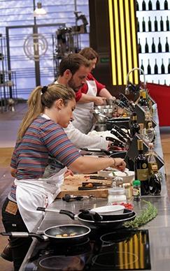 Gli aspiranti chef al lavoro