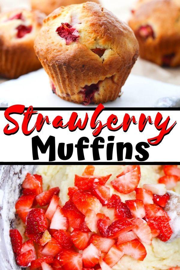 Strawberry Muffins Recipe Strawberry Muffins Strawberry