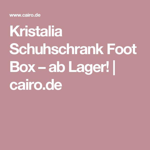 Kristalia Schuhschrank Foot Box – ab Lager! | cairo.de