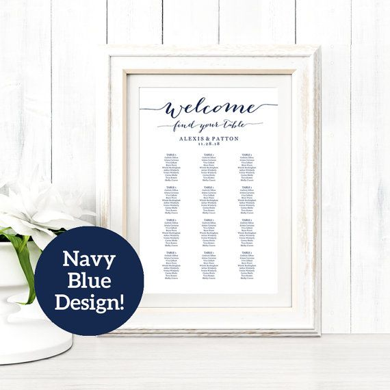 Best Seating Chart Templates Images On   Wedding