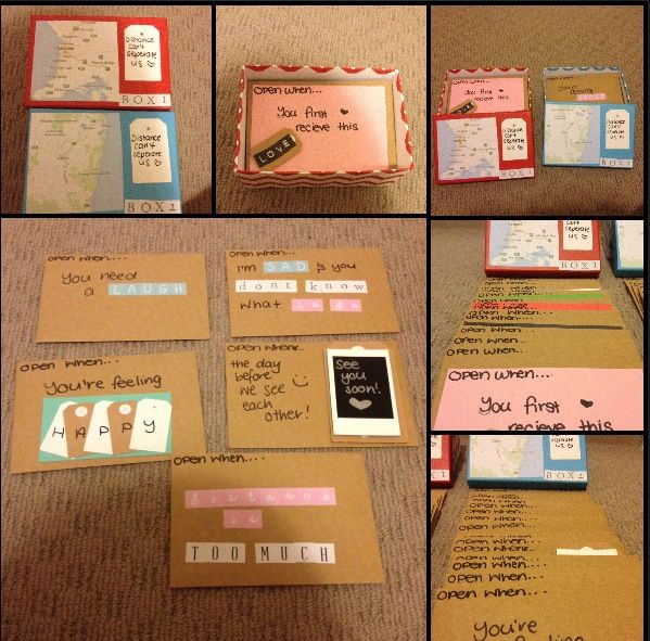 open when letters 30 cards all up 15 in each box such a cute diy gift idea absolutely love the idea