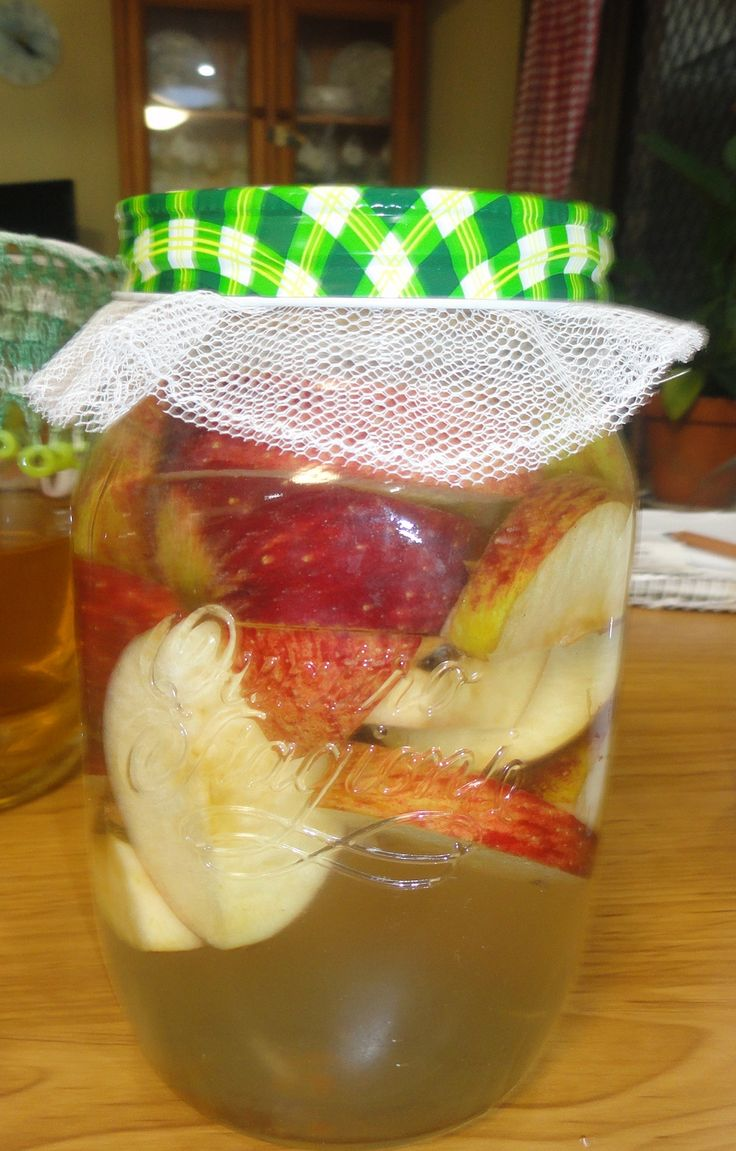 Making vinegar the old way!