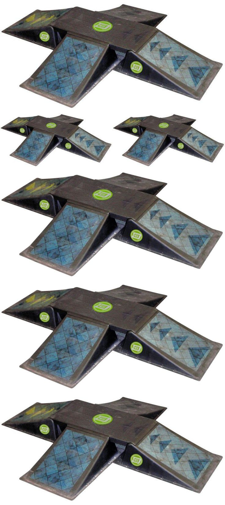 Ramps and Rails 91565: Amazing And Fun D6 Sports Quad Ramp With Fun Box New -> BUY IT NOW ONLY: $134.99 on eBay!