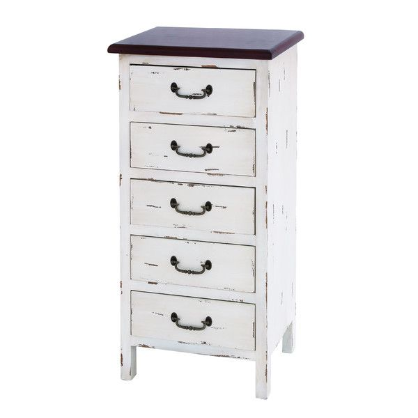 Beachcrest Home Lauderdale Lakes 5 Drawer Chest & Reviews | Wayfair
